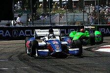 IndyCar - Wenig aussagekr�ftiges Ergebnis: Andretti Schnellster im Regen