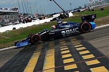 IndyCar - Das ganze Rennen lang Sprit gespart: Barrichello: Strategie wichtiger als in der F1