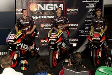 MotoGP - Testfahrten f�r NGM Mobile Forward Racing: De Angelis auf Edwards Maschine