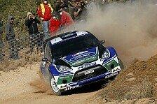 WRC - Fragezeichen Wetter: Ford will um den Doppelsieg in Portugal k�mpfen
