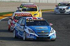 WTCC - Chevrolet erneut an der Spitze : Muller f�hrt Trainingsbestzeit in Valencia