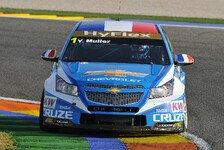 WTCC - Zeiten deutlich langsamer: Chevrolet auch im Warm-up an der Spitze