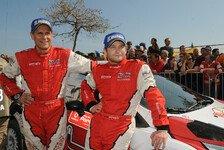 WRC - Giraudet als Gravel Crew: Novikov: Unterst�tzung vom verletzten Co-Piloten