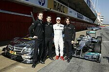 DTM - Gro�e Vorbilder: Mercedes Junior-Team: Merhi, Vietoris und Wickens