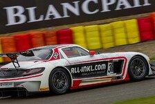 Blancpain GT Serien - Ferrari-Desaster beim Boxenstopp: Mercedes-Sieg im Qualifikationsrennen
