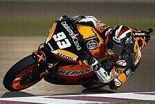 Moto2 - L�thi in letzter Runde abgedr�ngt: Marquez mit kontroversem Sieg in Katar