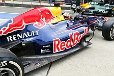 Formel 1 - Hektik hilft jetzt nichts : Vettel in Bahrain wieder mit neuem Auspuff