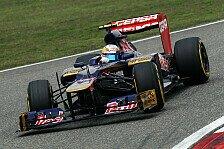 Formel 1 - Evaluierungsfahrt f�r Bahrain: Toro Rosso auch im Rennen schwach