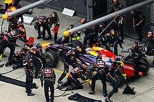 Formel 1 - Vettel lobt seine Boxencrew