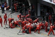 Formel 1 - Ferrari: Stopps gehen nicht mehr schneller