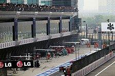Formel 1 - 5000 Euro f�r ein loses Rad: Mercedes f�r Schumacher-Stopp bestraft