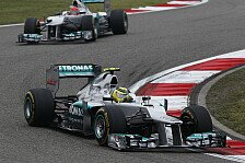 Formel 1 - Zweimal bestes Auto im Feld: Rosberg: 2012 war massiver Fortschritt