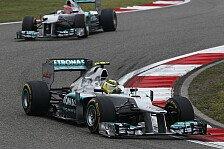 Formel 1 - Rosberg: 2012 war massiver Fortschritt