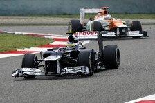 Formel 1 - Licht am Ende des Tunnels gesehen: Frank Williams: Haben die Kurve gekriegt