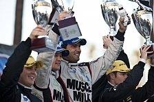 USCC - Zweiter Sieg in Folge f�r Muscle Milk und Corvette: Luhr und Graf siegen in Laguna Seca