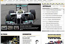 Formel 1 - Neues Layout: Motorsport-Magazin.com Re-Launch 2012