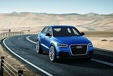 Auto - Interpretation eines Hochleistungssportlers: Audi RS Q3 concept mit 360 PS