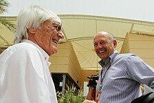 Formel 1 - Die Technologie der Zukunft: Ron Dennis: Pl�doyer f�r die neue Formel 1