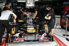 Formel 1 - Zwei verletzte Mitarbeiter: Zwischenfall in der Toro-Rosso-Fabrik