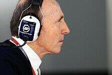 Formel 1 - Warnzeichen f�r Williams: Williams heizt Spekulationen zu Parr an