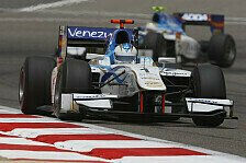 GP2 - Aufs Podium & zweimal in die Punkte: Cecotto: Gro�er Schritt seit Malaysia