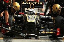 Formel 1 - Vertrag f�r 2013?: R�ikk�nen: Gl�cklich bei Lotus