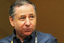 Formel 1 - Eine gute Show bieten: Todt will ein Drittel der Kosten einsparen