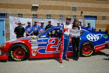 NASCAR - �berraschung durch Sam Hornish Junior: A.J. Allmendinger holt Kansas-Pole