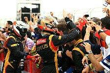 Formel 1 - Alternative Strategie zahlte sich aus: Grosjean meldet sich mit Podium zur�ck