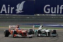 Formel 1 - Stewards unternehmen nichts: Keine Strafe gegen Rosberg in Bahrain