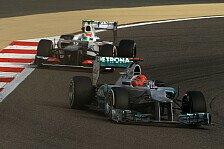 Formel 1 - Drei Rennsiege w�ren drin gewesen: Alonso: Im Sauber h�tte Schumacher gewonnen