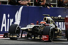 Formel 1 heute vor acht Jahren: Grosjean zeigt seine gute Seite