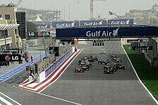 Formel 1 - Tr�nengas f�r die Formel 1: Proteste in Bahrain