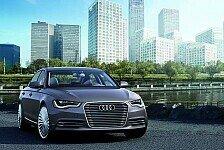 Auto - Plug-in-Hybrid: Der Audi A6 L e-tron concept