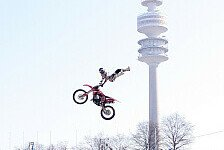 NIGHT of the JUMPs - Krasse Mountainbike-Show zur Einstimmung: Freestyle Helden st�rmen den Olympiapark