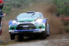 WRC - Wieder Verlust einer gro�en Chance: Wilson: Entt�uschung �ber Solberg-Aus