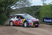 WRC - Zehntelkampf bei Citroen: Loeb und Hirvonen schenken sich nichts