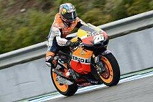 MotoGP - Warm-Up: Pedrosa fährt Bestzeit