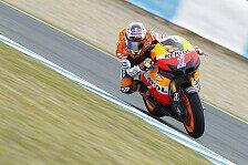 MotoGP - Pedrosa k�mpft sich aufs Podest: Spanien GP: Stoner siegt vor Lorenzo