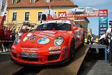 DRS - Sonnenschein zum Auftakt der DRS 2012: 1. Lauf � Rally Rallye Lu�ick� Hory