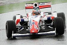 Formel 2 - Spannung auf abtrocknender Strecke: Last-Minute-Pole f�r Bacheta