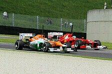 Formel 1 - Bianchi soll Fahrpraxis sammeln: Ferrari: Einfluss auf Force-India-Entscheidung?