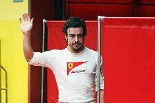 Formel 1 - Wie auf einem Drahtseil hoch �ber dem Boden: Alonso: Schritt f�r Schritt nach vorne