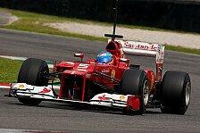 Formel 1 - Mugello: Alonso mit Bestzeit ohne Wert