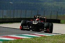 Formel 1 - Mugello: Grosjean und Kobayashi vorne