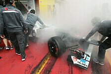 Formel 1 - Bilder: Mugello Test - Feuer an der Sauber-Box