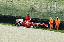 Formel 1 - Wichtige Testzeit verloren: Alonso: Abflug in Mugello