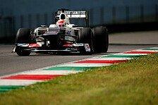 Formel 1 - Sauber: Optimistisch nach Barcelona