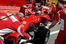 Formel 1 - Feuerl�scher & Overalls: Ferrari versch�rft Sicherheitsvorkehrungen