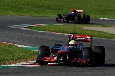Formel 1 - Wie am letzten Nachmittag in Mugello: McLaren: In Zukunft hochn�sig?